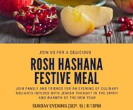 Copy of rosh hashnana dinner