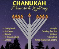 menorah lighting